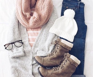 fashion, winter outfit, and outfit image