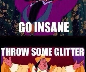 disney, glitter, and funny image