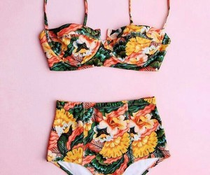 chic, floral, and warm image