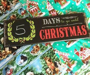 christmas, 5 days, and wallpaper image