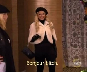 paris hilton, bitch, and funny image