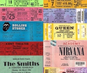 nirvana, Queen, and the beatles image