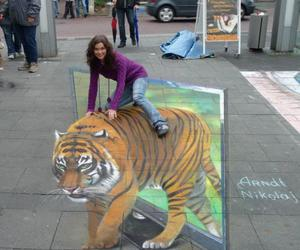 3d, street, and painting image