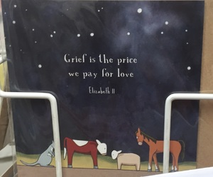 card, grief, and life image