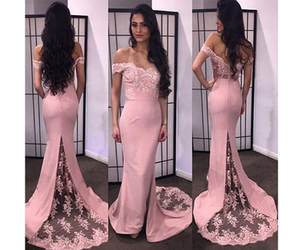 evening dresses, long, and off the shoulder image