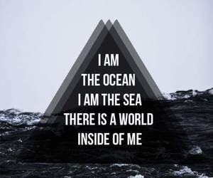 bring me the horizon and ocean image