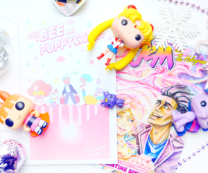 geek, jem and the holograms, and pastel image
