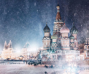 beautiful, lights, and winter image