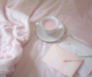 pink, cute, and letters image