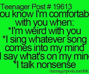 true, teenager post, and funny image