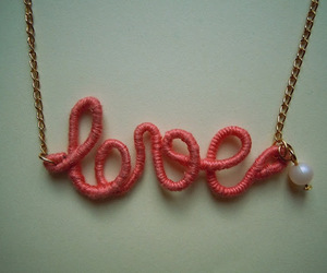 diy, lovely, and necklace image