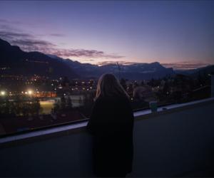 sky, tumblr, and night image