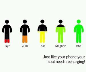 allah, muslim, and phone image