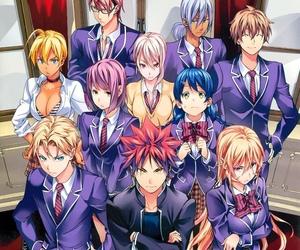 anime, shokugeki no soma, and manga image