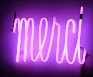 lights, purple, and frança image