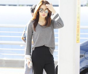 airport, asian, and asian fashion image