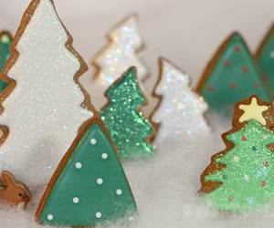 christmas, decorations, and Cookies image