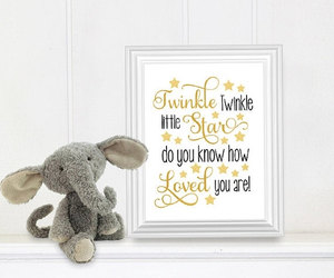 etsy, baby gift, and nursery image
