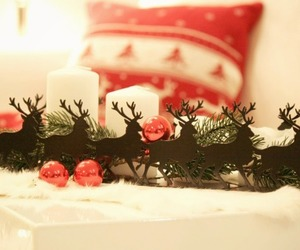 decor, garland, and holiday image
