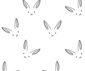 rabbit, wallpaper, and bunny image