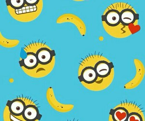 minions, wallpaper, and banana image