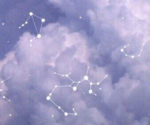 purple, sky, and stars image