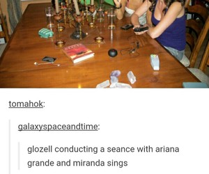 funny, tumblr, and miranda sings image