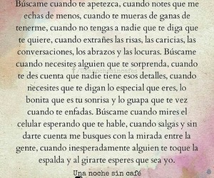 amor, frases, and buscame image