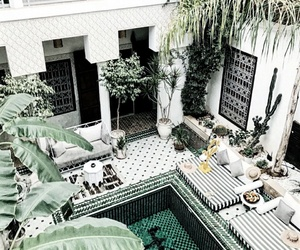 hotel, travel, and marrakech image