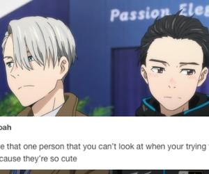 tumblr, text post, and yuri on ice image