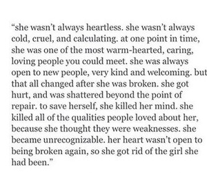 quote, broken, and girl image
