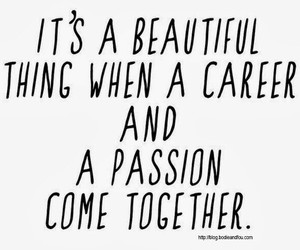 career, passion, and quotes image