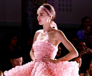 fashion, Couture, and pink image