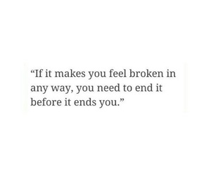 quotes, broken, and life image