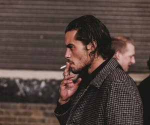 cigarette, guys, and smoke image