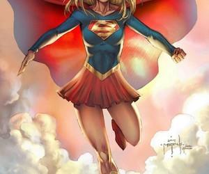 comics, DC, and girl image