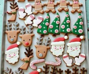 christmas, sugar, and Cookies image