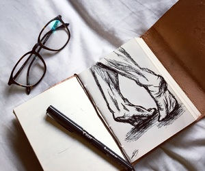 aesthetic, doodle, and old fashioned image