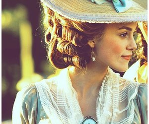 keira knightley, the duchess, and vintage image