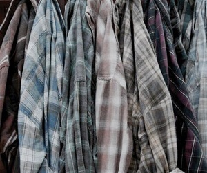 fashion, flannel, and twd image