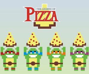 link, pizza, and the legend of zelda image