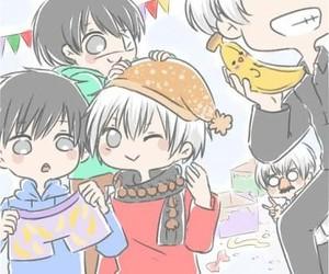 birthday boy, kaneki ken, and cute image