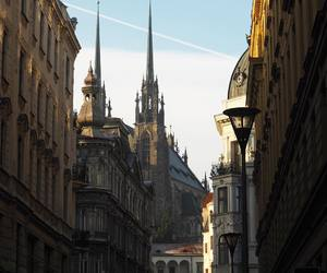 city, brno, and town image