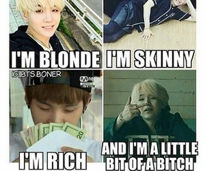 bitch, blonde, and kpop image
