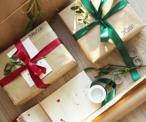 christmas, gifts, and home decor image