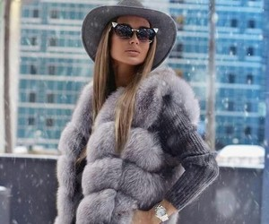 clothes, fashion, and fur image