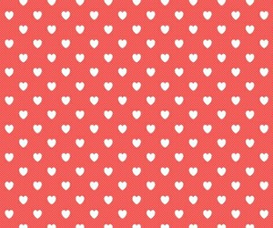 beautiful, heart, and pattern image