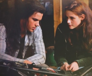 bella swan, jacob black, and new moon image