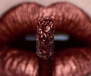 lips, lipstick, and beauty image