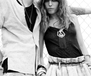 black and white, fashion, and H&M image